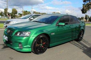 2011 Holden Commodore VE II MY12 SV6 Green 6 Speed Sports Automatic Sedan