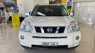 2010 Nissan X-Trail T31 MY10 TI White 1 Speed Constant Variable Wagon.