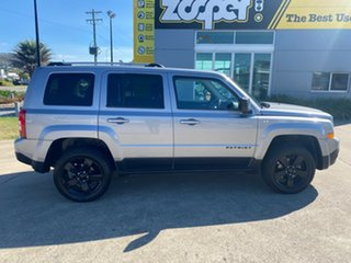 2015 Jeep Patriot MK MY15 Limited Silver/240516 6 Speed Sports Automatic Wagon.