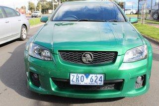2011 Holden Commodore VE II MY12 SV6 Green 6 Speed Sports Automatic Sedan.