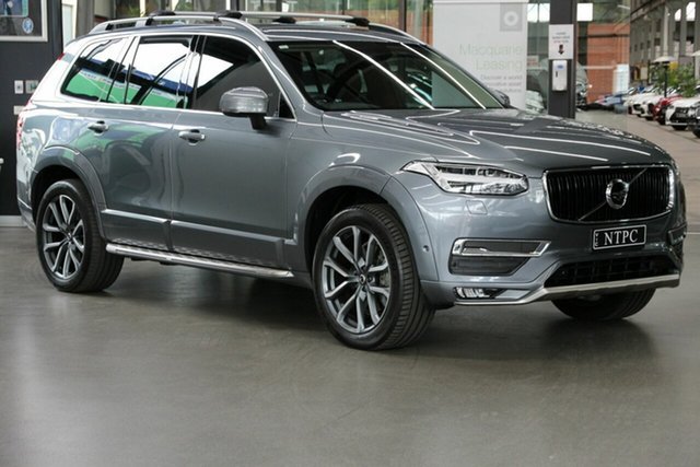 Used Volvo XC90 L Series MY18 D5 Geartronic AWD Momentum North Melbourne, 2018 Volvo XC90 L Series MY18 D5 Geartronic AWD Momentum Grey 8 Speed Sports Automatic Wagon