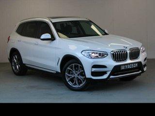 2018 BMW X3 G01 xDrive20d White 8 Speed Automatic Wagon