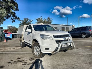 2012 Holden Colorado RG MY13 LX Space Cab White 6 Speed Sports Automatic Cab Chassis.