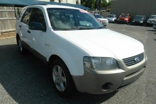 2007 Ford Territory SY TX AWD White 6 Speed Sports Automatic Wagon.