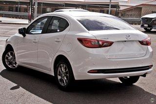 2021 Mazda 2 DL2SAA G15 SKYACTIV-Drive Pure White 6 Speed Sports Automatic Sedan