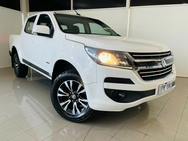 Used Holden Colorado RG MY17 LS Pickup Crew Cab 4x2 Deer Park, 2017 Holden Colorado RG MY17 LS Pickup Crew Cab 4x2 White 6 Speed Sports Automatic Utility