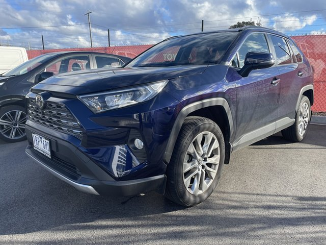 Pre-Owned Toyota RAV4 Mxaa52R Cruiser 2WD South Morang, 2020 Toyota RAV4 Mxaa52R Cruiser 2WD Saturn Blue 10 Speed Constant Variable Wagon