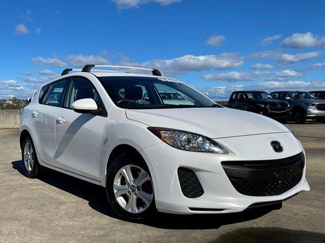 Used Mazda 3 BL10F2 MY13 Neo Brookvale, 2013 Mazda 3 BL10F2 MY13 Neo White 6 Speed Manual Hatchback