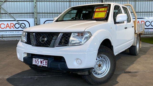 Used Nissan Navara D40 S6 MY12 RX 4x2 Rocklea, 2012 Nissan Navara D40 S6 MY12 RX 4x2 White 6 Speed Manual Utility