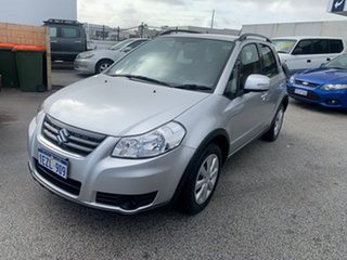 2014 Suzuki SX4 GY Crossover Silver Continuous Variable Hatchback.