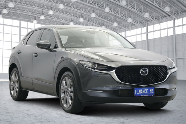 Used Mazda CX-30 DM2W7A G20 SKYACTIV-Drive Touring Victoria Park, 2020 Mazda CX-30 DM2W7A G20 SKYACTIV-Drive Touring Graphite 6 Speed Sports Automatic Wagon