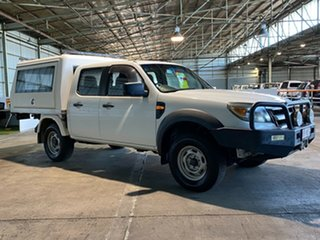 2009 Ford Ranger PJ XL White 5 Speed Manual Cab Chassis.