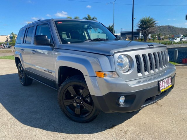 Used Jeep Patriot MK MY15 Limited Townsville, 2015 Jeep Patriot MK MY15 Limited Silver/240516 6 Speed Sports Automatic Wagon