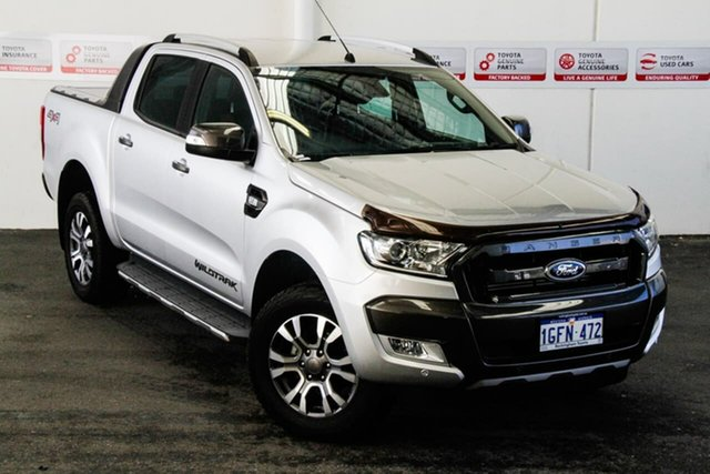 Pre-Owned Ford Ranger PX MkII MY17 Wildtrak 3.2 (4x4) Rockingham, 2017 Ford Ranger PX MkII MY17 Wildtrak 3.2 (4x4) 6 Speed Automatic Dual Cab Pick-up