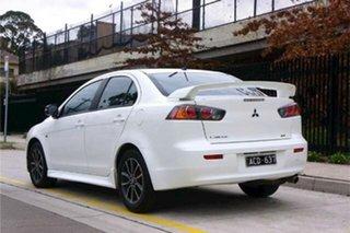 2014 Mitsubishi Lancer CJ MY15 ES Sport White 6 Speed Constant Variable Sedan.