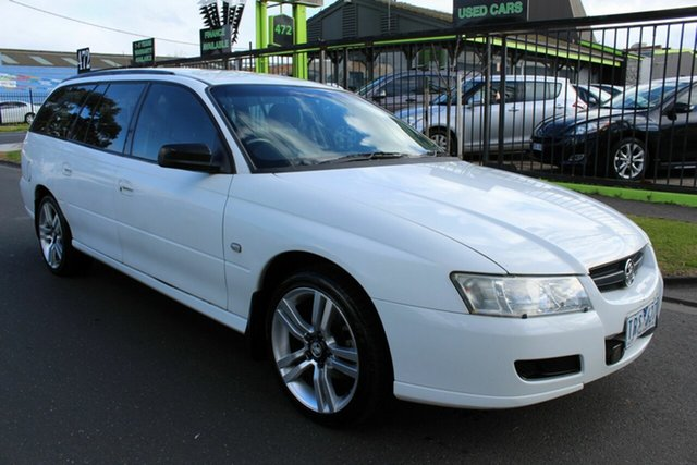 Used Holden Commodore VZ Executive West Footscray, 2005 Holden Commodore VZ Executive White 4 Speed Automatic Wagon