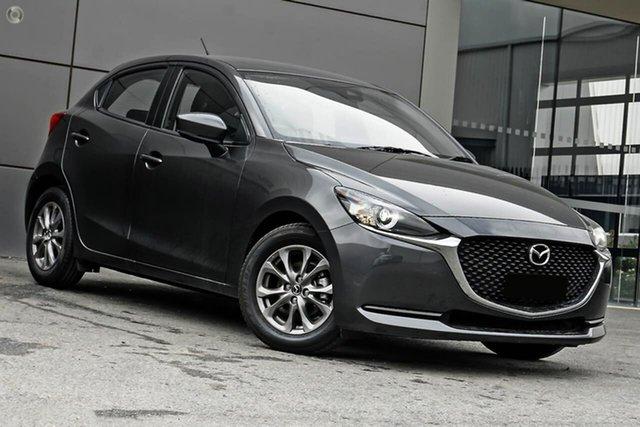 New Mazda 2 DJ2HAA G15 SKYACTIV-Drive Pure Waitara, 2021 Mazda 2 DJ2HAA G15 SKYACTIV-Drive Pure Grey 6 Speed Sports Automatic Hatchback