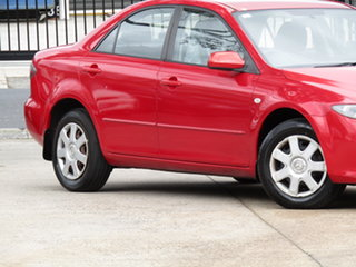 2006 Mazda 6 GG1032 Limited Absolute Red 6 Speed Manual Sedan.
