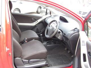 2006 Toyota Yaris NCP90R YR Ablaze Red 5 Speed Manual Hatchback