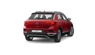 2021 Volkswagen T-ROC A1 MY21 110TSI Style Red 8 Speed Sports Automatic Wagon