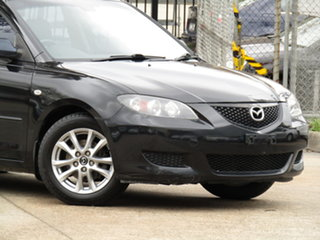 2004 Mazda 3 BK10F1 Neo Agate Black 5 Speed Manual Sedan.