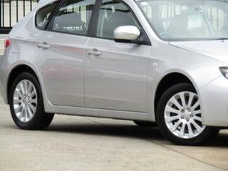 2010 Subaru Impreza G3 MY10 R AWD Adventurine Silver 5 Speed Manual Hatchback.