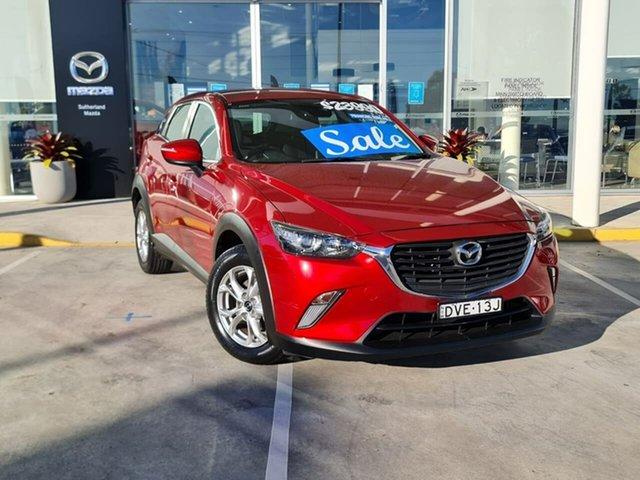 Used Mazda CX-3 DK2W7A Maxx SKYACTIV-Drive Kirrawee, 2017 Mazda CX-3 DK2W7A Maxx SKYACTIV-Drive Red 6 Speed Sports Automatic Wagon