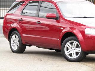 2006 Ford Territory SY Ghia AWD Seduce 6 Speed Sports Automatic Wagon.
