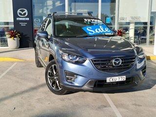 2015 Mazda CX-5 KE1032 Grand Touring SKYACTIV-Drive AWD Blue 6 Speed Sports Automatic Wagon.
