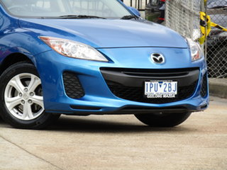 2011 Mazda 3 BL10F1 MY10 Neo Activematic Abyss Blue 5 Speed Sports Automatic Hatchback.
