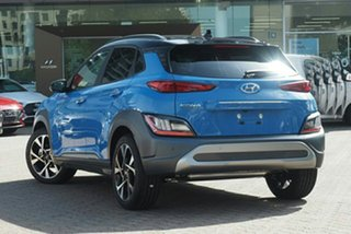2021 Hyundai Kona Os.v4 MY21 Highlander 2WD Dive In Jeju & Black Roof 8 Speed Constant Variable.