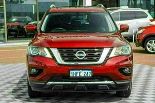 2020 Nissan Pathfinder R52 Series III MY19 Ti X-tronic 2WD Redstone 1 Speed Constant Variable Wagon