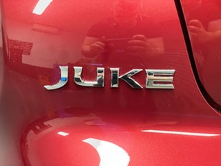 2017 Nissan Juke F15 Series 2 ST X-tronic 2WD Red 1 Speed Constant Variable Hatchback