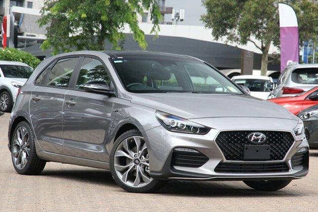 New Hyundai i30 PD.V4 MY22 N Line D-CT Premium Epsom, 2021 Hyundai i30 PD.V4 MY22 N Line D-CT Premium Fluidic Metal 7 Speed Sports Automatic Dual Clutch