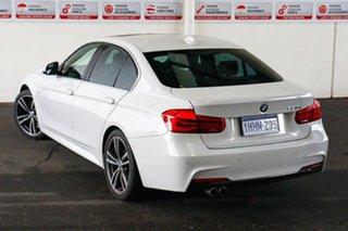 2016 BMW 330i F30 LCI M Sport White 8 Speed Automatic Sedan.
