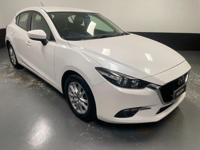 Used Mazda 3 BN5478 Maxx SKYACTIV-Drive Cardiff, 2017 Mazda 3 BN5478 Maxx SKYACTIV-Drive White 6 Speed Sports Automatic Hatchback