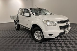 2014 Holden Colorado RG MY14 LX Space Cab White 6 speed Automatic Cab Chassis.