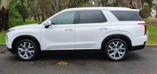 2021 Hyundai Palisade LX2.V1 MY21 Highlander AWD Wc9 White Cream 8 Speed Sports Automatic Wagon.
