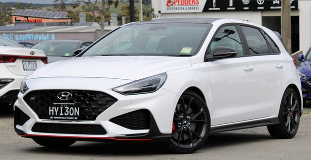 Demo Hyundai i30 Pde.v4 MY22 N D-CT Premium Ferntree Gully, 2021 Hyundai i30 Pde.v4 MY22 N D-CT Premium Polar White 8 Speed Sports Automatic Dual Clutch