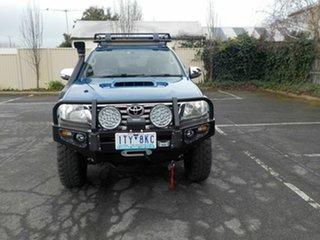 2012 Toyota Hilux KUN26R MY12 SR5 (4x4) Blue 4 Speed Automatic Dual Cab Pick-up.