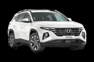 2021 Hyundai Tucson NX4.V1 MY22 Elite AWD White Cream 8 Speed Sports Automatic Wagon