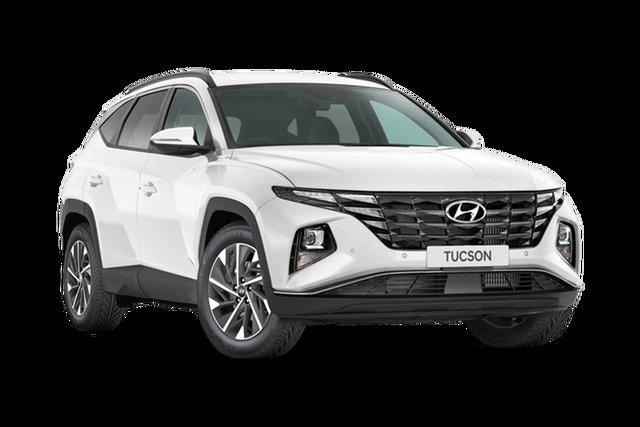 New Hyundai Tucson NX4.V1 MY22 Elite AWD Hamilton, 2021 Hyundai Tucson NX4.V1 MY22 Elite AWD White Cream 8 Speed Sports Automatic Wagon