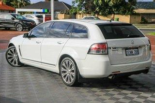 2013 Holden Calais VE II MY12.5 V Sportwagon White 6 Speed Sports Automatic Wagon.