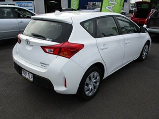2013 Toyota Corolla ASCENT White 4 Speed Automatic Hatchback