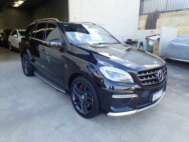 Used Mercedes-Benz ML63 AMG 166 4x4 Wangara, 2013 Mercedes-Benz ML63 AMG 166 4x4 Black Crystal 7 Speed Automatic Wagon