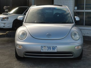 2002 Volkswagen Beetle 9C MY2002.5 Coupe Silver 4 Speed Automatic Liftback