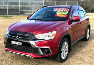 2019 Mitsubishi ASX XC MY19 ES 2WD Red 1 Speed Constant Variable Wagon.