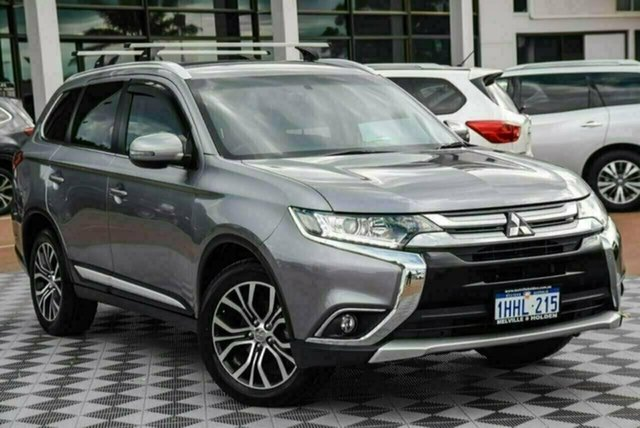 Used Mitsubishi Outlander ZK MY17 LS 4WD Attadale, 2017 Mitsubishi Outlander ZK MY17 LS 4WD Grey 6 Speed Constant Variable Wagon