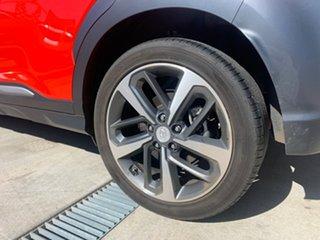 2018 Hyundai Kona OS.2 MY19 Highlander (AWD) Orange 7 Speed Auto Dual Clutch Wagon