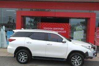 2017 Toyota Fortuner GUN156R Crusade White 6 Speed Automatic Wagon.